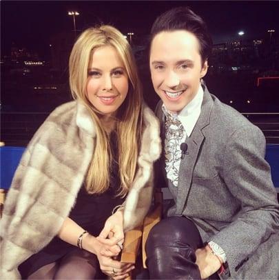 Sochi Stars Johnny Weir and Tara Lipinski - 1 - Media Darlings