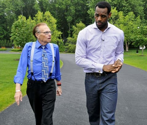 LeBron Watch Since End of Season - 1 - Larry King Interview