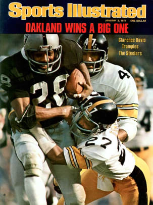 Best AFC Championship Games - 2 - 1976: Raiders 24, Steelers 7