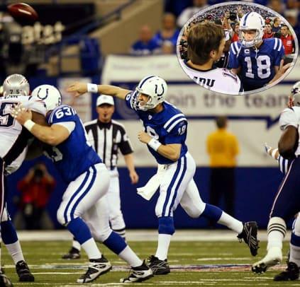 Best AFC Championship Games - 8 - 2006: Colts 38, Patriots 34
