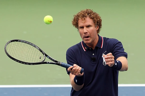 The Crazy Faces of Tennis - 10 - Will Ferrell