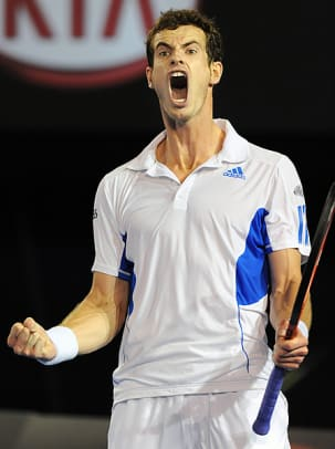 The Crazy Faces of Tennis - 1 - Andy Murray