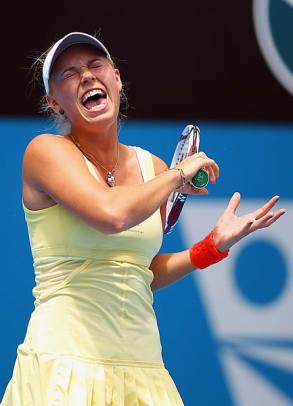 The Crazy Faces of Tennis - 2 - Caroline Wozniacki