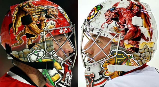 Scary Goalie Masks - 25 - Marty Turco