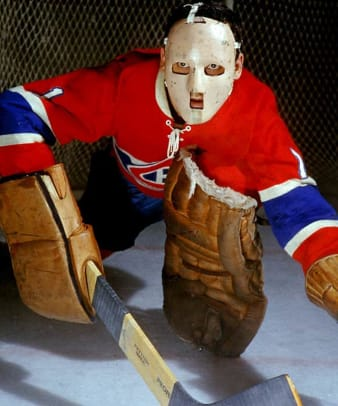 Scary Goalie Masks - 1 - Jacques Plante