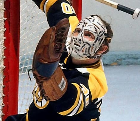 Scary Goalie Masks - 2 - Gerry Cheevers