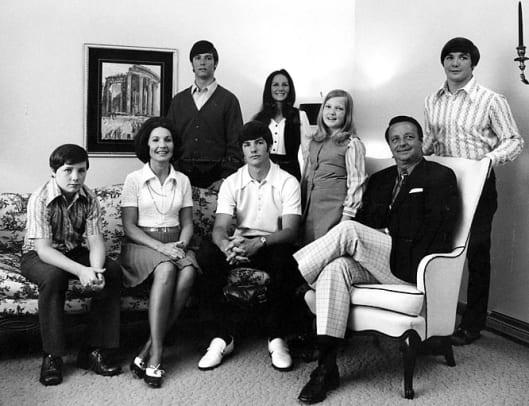 Rare Photos of Bobby Bowden - 1 - Bowden family