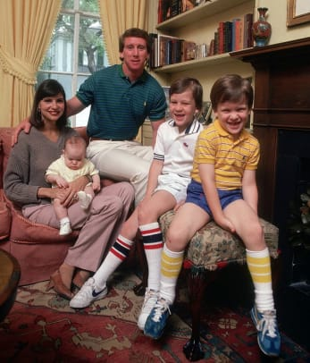 Rare Photos of the Mannings - 1 - 1981