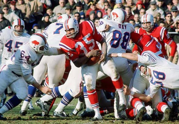 SI's Classic New England Patriots Photos - 2 - Jim Nance