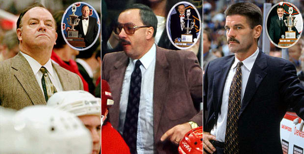 Notable NHL Award Winners - 13 - Scotty Bowman, Jacques Demers, Bob Francis