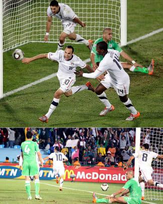 Biggest Wins in U.S. Soccer History - 1 - 2010 World Cup vs. Algeria