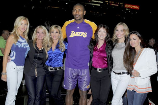 Rare Photos of Ron Artest - 21 - Ron Artest and Real Housewives of Beverly Hills