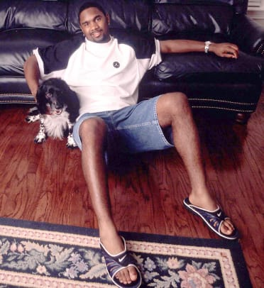 Athletes and Their Dogs - 25 - Charles Woodson