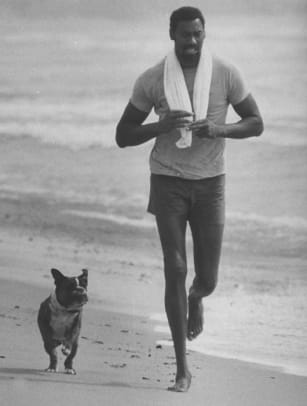 Athletes and Their Dogs - 2 - Wilt Chamberlain