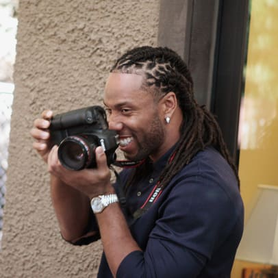 Larry Fitzgerald Shares His Photography - 1 - From Receiver to Photographer