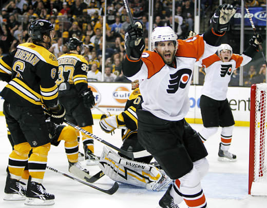 Epic NHL Collapses - 1 - 2010 Bruins fall to Flyers
