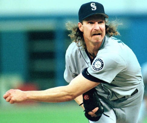 Best Hairstyles in Sports History - 30 - Randy Johnson