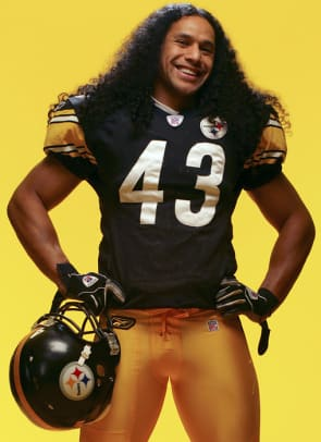 Best Hairstyles in Sports History - 1 - Troy Polamalu