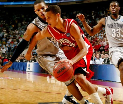 2000s: Top College Basketball Upsets - 1 - Davidson 74, Georgetown 70 | 2008 NCAA second round