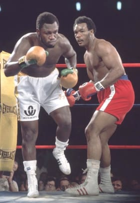 Back in Time: January 22 - 1 - Joe Frazier and George Foreman