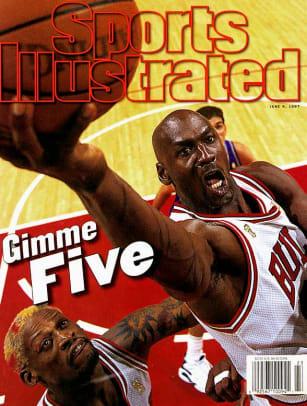 Michael Jordan's Top 23 SI Covers - 1 - June 9, 1997