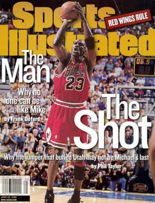 Michael Jordan's Top 23 SI Covers - 23 - June 22, 1998