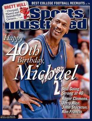 Michael Jordan's Top 23 SI Covers - 2 - November 30, 2001