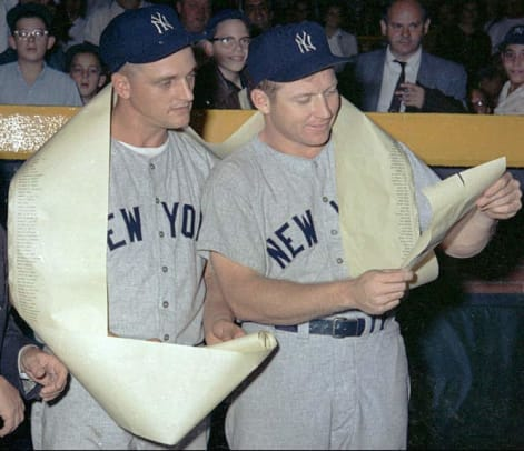 Back in Time: September 3 - 1 - Roger Maris and Mickey Mantle