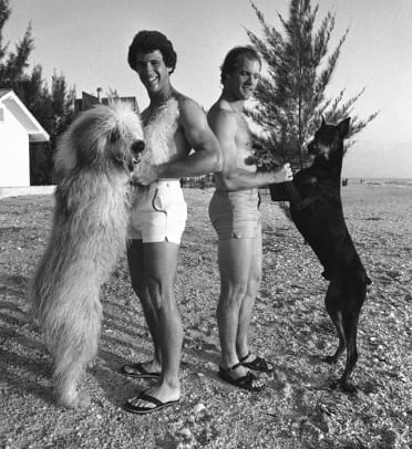 Athletes and Their Dogs - 45 - Doug Flynn and Joel Youngblood