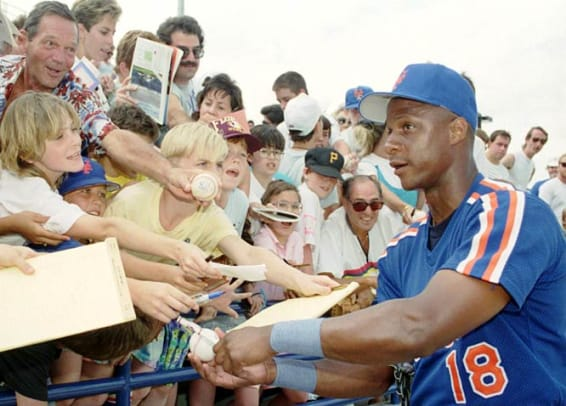 Back in Time: June 3 - 1 - Darryl Strawberry