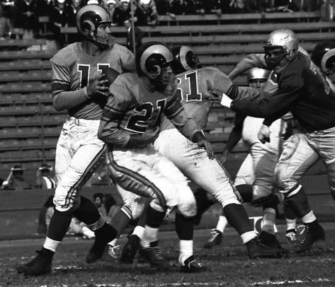 NFL's 500-Yard Passers - 1 - Norm Van Brocklin, 554 yards