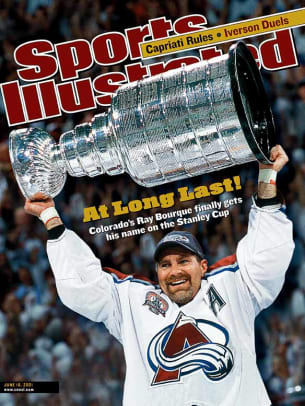 Famous Sports Breakthroughs - 2 - Ray Bourque wins the Stanley Cup (2001)