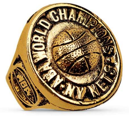 Championship Rings - 10 - New York Nets