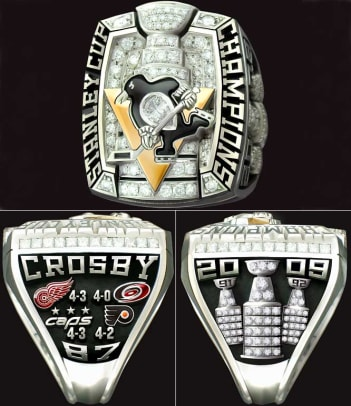 Championship Rings - 1 - Pittsburgh Penguins