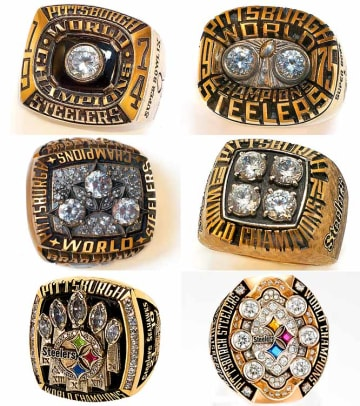 Championship Rings - 2 - Pittsburgh Steelers