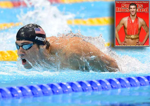 Most Medaled Olympians - 1 - Michael Phelps - 21