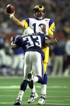 Best QB Performances in a Super Bowl - 2 - Kurt Warner (XXXIV)