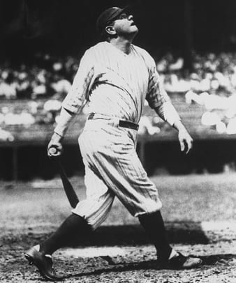Back in Time: March 16 - 1 - Babe Ruth