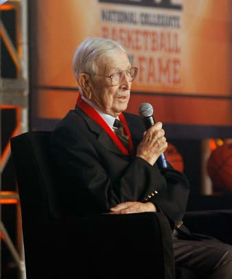 Happy Birthday Coach Wooden - 2 - College Basketball Hall of Fame Induction