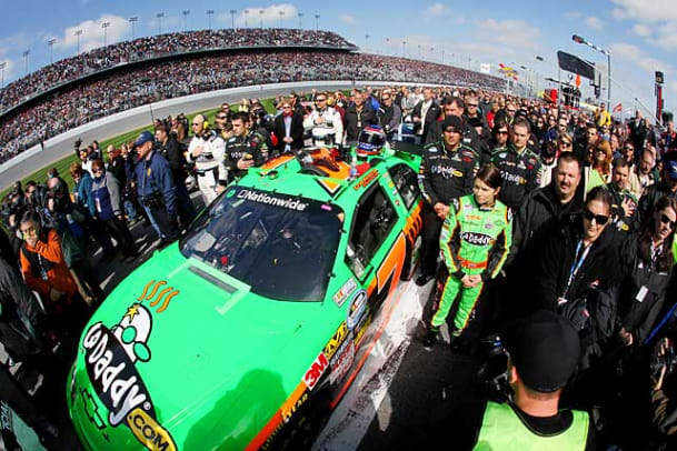 Danica's First Nationwide Race - 1