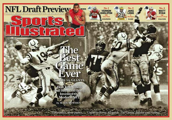Pinnacle Moments in NFL History - 1