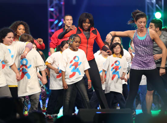 First Lady Gets Kids Moving - 1 - A Let's Move! Dance Party