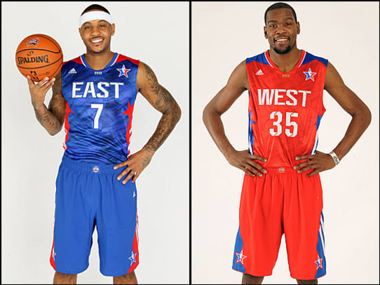 NBA All-Star Jerseys Through the Years - 1 - 2013