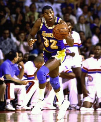 All-Time Lakers Team - 1 - Magic Johnson | Starting guard