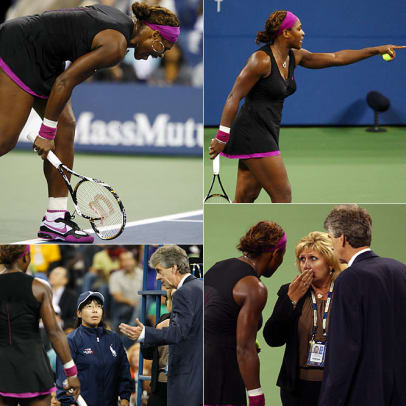 Memorable Meltdowns - 1 - Serena Williams