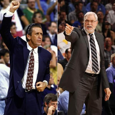 All-Time Lakers Team - 13 - Pat Riley and Phil Jackson | Coaches
