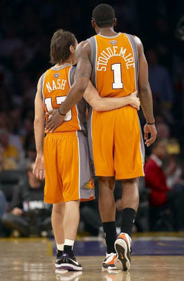 Rare Photos of Steve Nash - 24 - Steve Nash and Amare Stoudemire