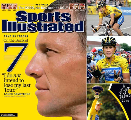 2000s: Biggest Milestones - 1 - Lance Armstrong