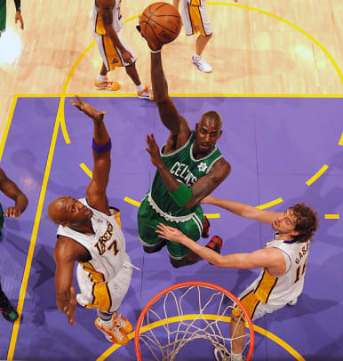 Celtics vs. Lakers in the Finals - 11 - 2008