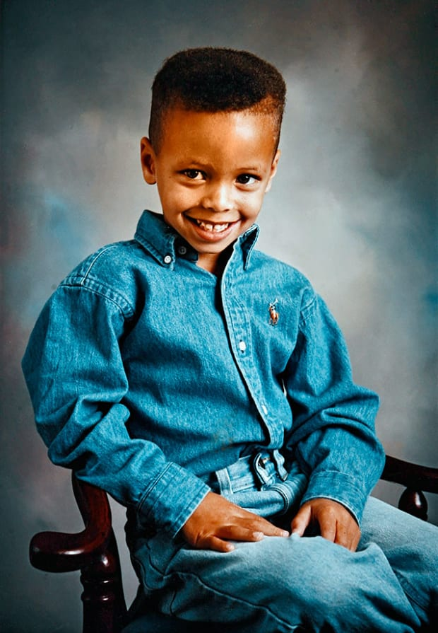 Stephen Curry Pictures Throughout The Years Si Kids Sports News For Kids Kids Games And More